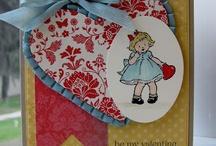 Valentine with SU little girl