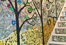mosaic ideas wall art