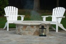 Fire Features / Outdoor Fire pits and Fire Places. Patio fire features bring warmth to your outdoor living space.