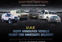 Armored Vehicles UAE / Minerva Special Purpose Vehicles is a leading UAE based company that specializes in the design and production of a wide range of armored vehicles, including executive SUVs, luxury sedans, special purpose military vehicles, personnel carriers, cash-in-transit vehicles. http://www.mspv.com/