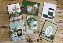 Coffee cafe cards