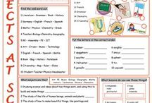 SCHOOL OBJECTS AND SUBJECTS