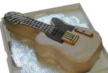 Deco cake <music> / 立体ケーキ ピアノ、ギタ、携帯などのデザインを集めました
