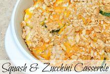casseroles type concoctions. / gotta love em.