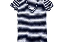 Great Stripes for D Cups and Up by Hourglassy Readers / Stripes that look great on women who wear D cups and up. / by Darlene Campbell