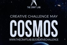 Cosmos / Join The Craft Lab on a creative challenge! Are you spending too much time in front of the computer and want to get in touch with your creative side? We would love it if you joined us our 12-month creative challenge! We will post a theme each month and you can participate using whichever discipline you choose.