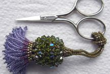 stringing of beads