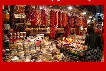 Must-Visit Barcelona Restaurants and Tapas Bar / Barcelona, Barcelona restaurants, Barcelona tapas, Barceloneta, Gracia, El Born, Sitges, La Cova Fumada, Gresca, La Flauta, Fragata, Cafe di Marco, Quimet y Quimet, Envalira, Bar Bodega Quimet, Teleferic, La Ramblas, Mercat de la Boqueria, Boqueria Market