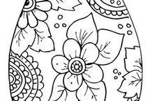 Desenhos Páscoa