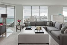 Sleek + Chic / Lacquered, dramatic, and oh-so-clean, the minimalist lines and monochrome tones of the sleek & chic look make a stunning statement. / by AllModern