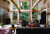 Timber Frame Interiors