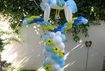 μπαλόνια  για  βάπτιση  / Μπαλόνια  για  βάπτιση  με  θέμα  αλογάκι.