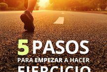 Hábitos para hacer ejercicio