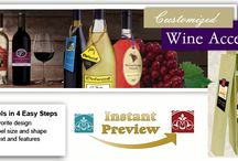 Bottle Tags Labels / Bottle neck labels or #necktags create an immediate call to action right at the point of sale. #Wine #bottletags help promote your brand and communicate to your consumers.