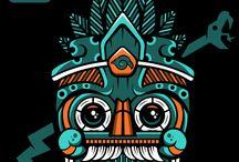 Aztec pieces