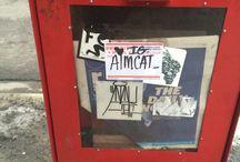 Street art and graffiti around Chicago