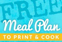 Food - Meal plans & Menus