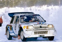 Groub B Rally Monsters / The insane and tragic world of Groub B Rally. / by Stuart Condé