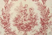 Toile, Ticking, Check Love
