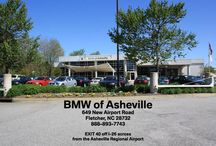 Our Dealership - BMW of Asheville / Here are some pictures of our location in Fletcher, NC.
