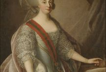 Queen Maria I of Portugal / Maria I (17 December 1734 - 20 March 1816) was Queen of Portugal, Brazil, and the Algarves. She was the wife of King Peter III of Portugal. She was the daughter of Joseph I of Portugal and Mariana Victoria of Spain. Peter and Maria had three children. José, Prince of Brazil, John VI and Infanta Maria Ana Vitória.