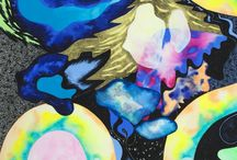 Contemporary art by Timja Femling / Visual art / Contemporary art / Painting / Abstract painting, all by Timja Femling.