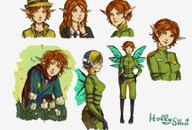 Holly Short/ (Artemis Fowl)