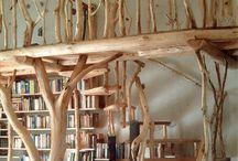 Galerie / Naturholzgeländer