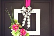 Wreath Ideas / by Linda Englert