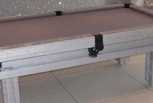 Our Colour E21 (Silver) - Luxury Pool Tables / Examples of Luxury Pool Tables ranges finished in colour E21 (Silver)