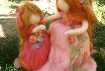 Muñecas lana