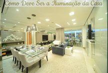Como dever ser a iluminação da casa / Veja + Inspirações e Dicas de decoração no blog!  www.construindominhacasaclean.com