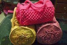 poșete tricotate