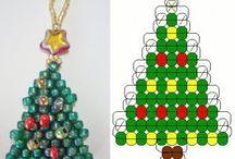 Karácsonyfa (minták és hozzávalók) / Fenyőfa minták és a hozzávalók egy helyen