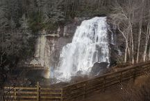 Waterfalls in Cashiers NC