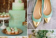 Muntkleurige bruiloften