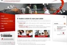 Ecole et formation - Sites Internet / Sites Internet crées par l'Agence Web Cognix Systems pour des écoles et des organismes de formation