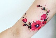 poppy tatoo