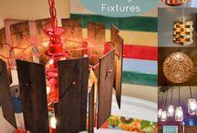 Home Decor: Light Fixtures / by Scrapality.com