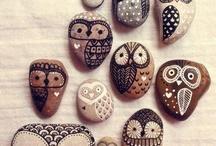Πέτρες ζωγραφική.