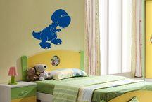 Stickers - Chambre Enfant / Voici un aperçu de nos stickers pour les chambres d'enfant. Il y a bien d'autres modèles sur notre site: www.artandstick.be