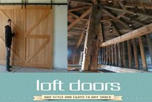 Barn Doors / Loft Doors offers a wide variety of Barn Doors, sliding doors, rolling doors, and many more