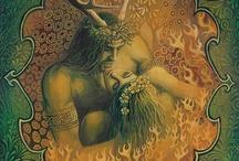 God and Goddess imagery