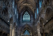 English Churches & Cathedrals, Castles & Country houses