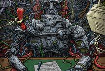 The Art of Dangerworld / Selected stuff from my original comic book, DANGERWORLD. Art and story by DC Roberts.