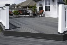 Composite Decking / Examples of Composite Decking