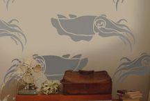 Interieur / Inktvis in je huis