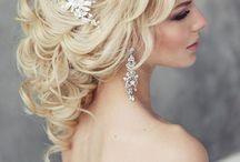 Wedding earring, bridal earring