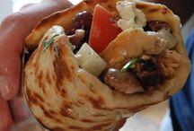 Giros / Comida griega