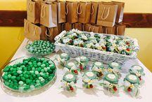 Green Style! / Allestimenti, bomboniere e menu per cerimonie ed eventi, tutto a tema #verde!
